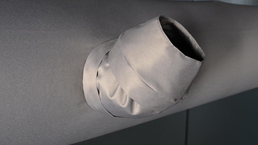 Текстильные воздуховоды — регулируемые сопла