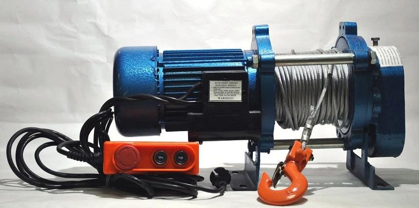 Электрическая лебедка в помощь индивидуальному застройщику