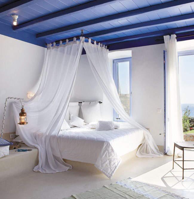 Греческий стиль для дома: летнее настроение