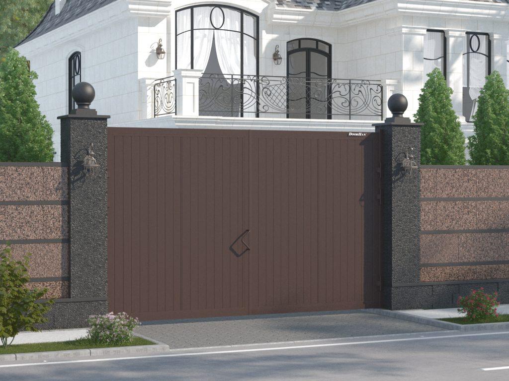 Почему распашные ворота остаются популярными?