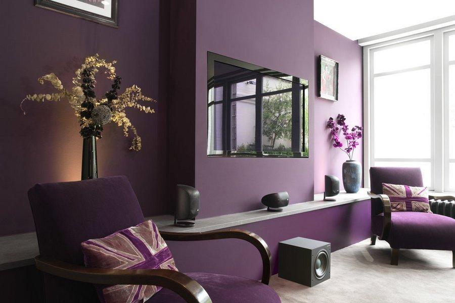 Выбор цвета краски для стен