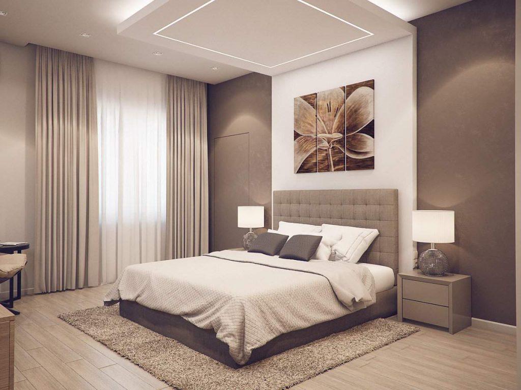 Цветовая гамма в дизайне спальни