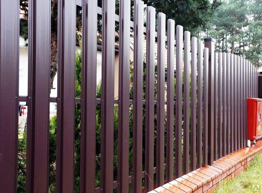 Выбираем забор