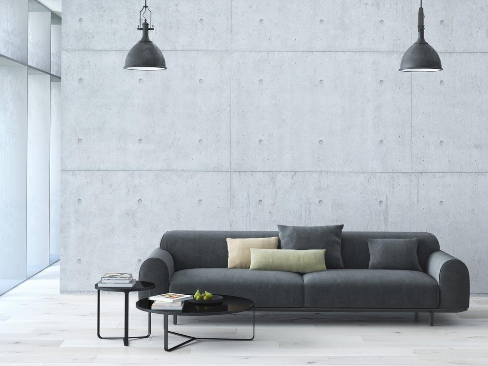 Как минимизировать мебель в гостиной