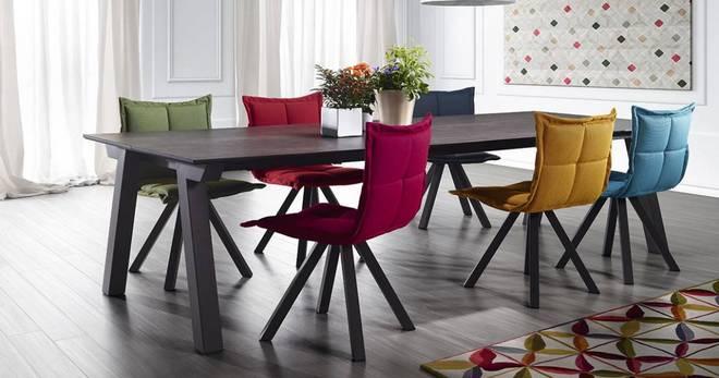 Стулья для кухни с мягким сиденьем — завершающий элемент дизайна обеденной зоны