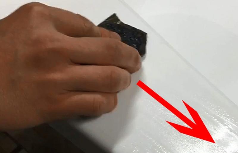 Как убрать царапины с пластикового подоконника