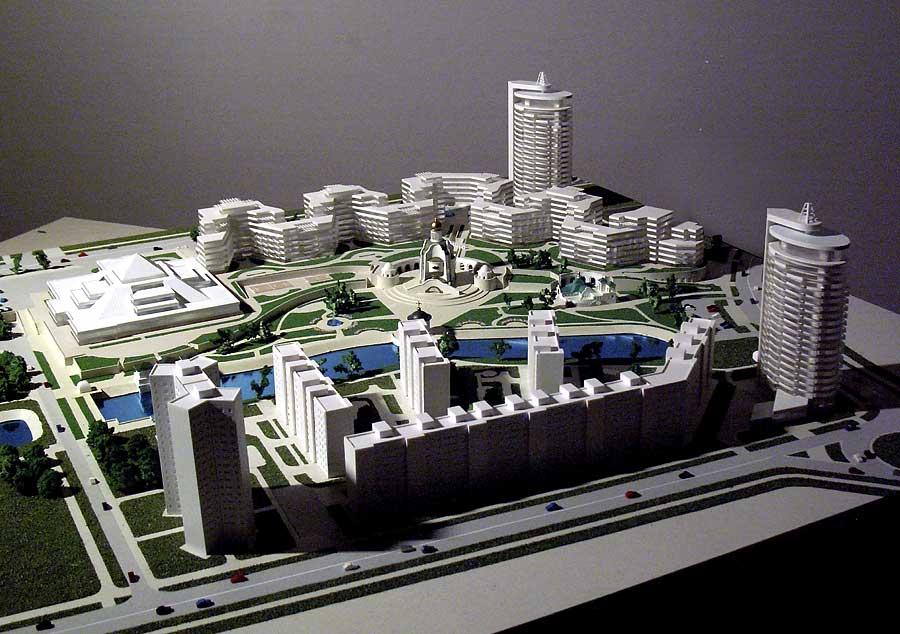 Создание градостроительного макета
