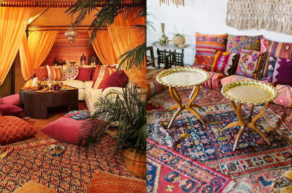 Марокканский стиль в интерьере: эклектика и гедонизм