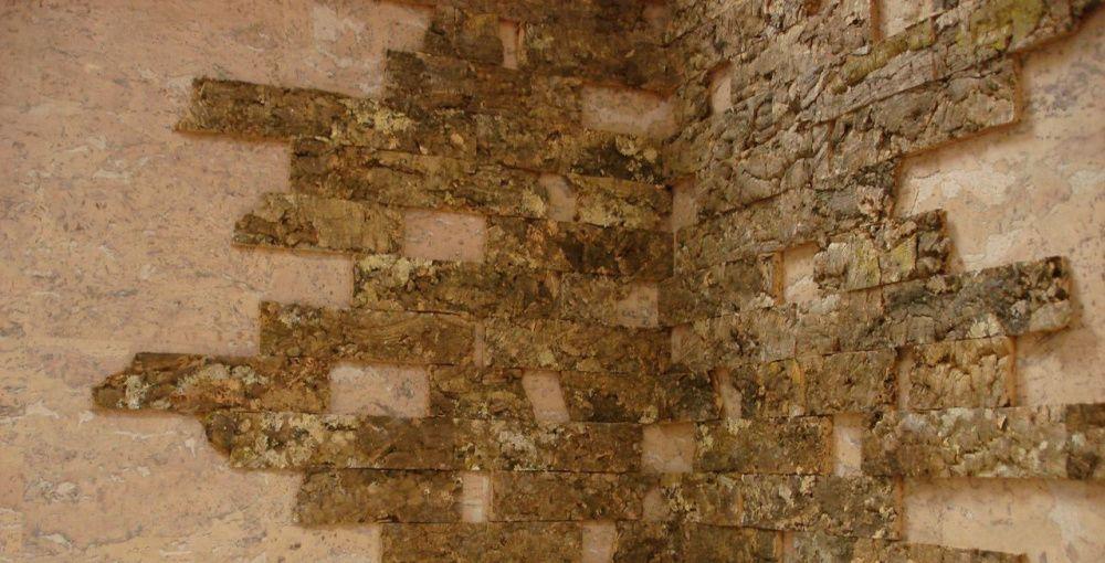 Пробка на стену: эстетика натурального декоративного камня
