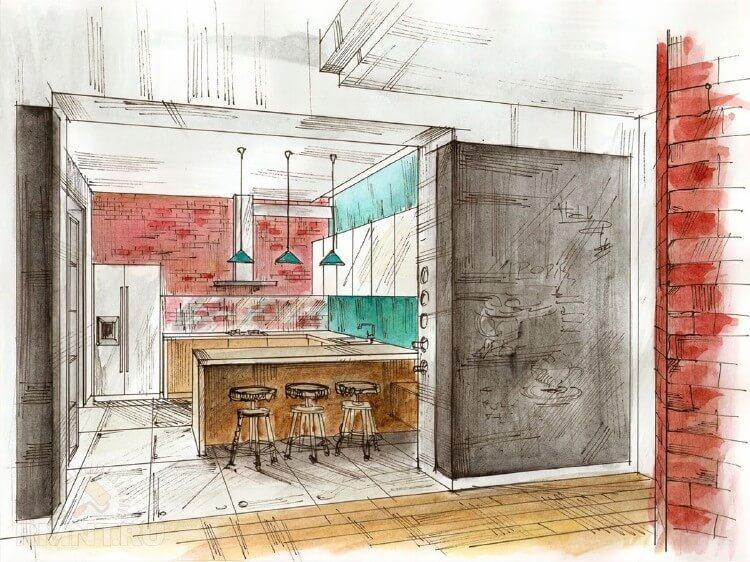 Как создать макет интерьера комнаты