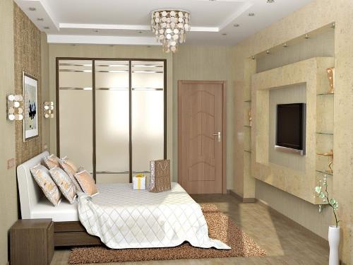 Интерьер с обложки: уютная спальня в спокойных тонах