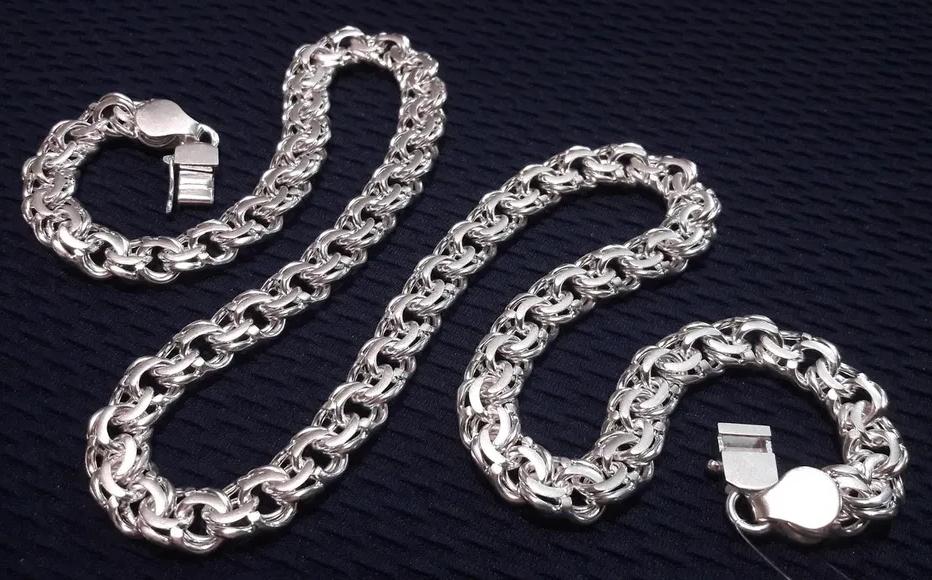 Мужская цепь: переплетение металла со вкусом