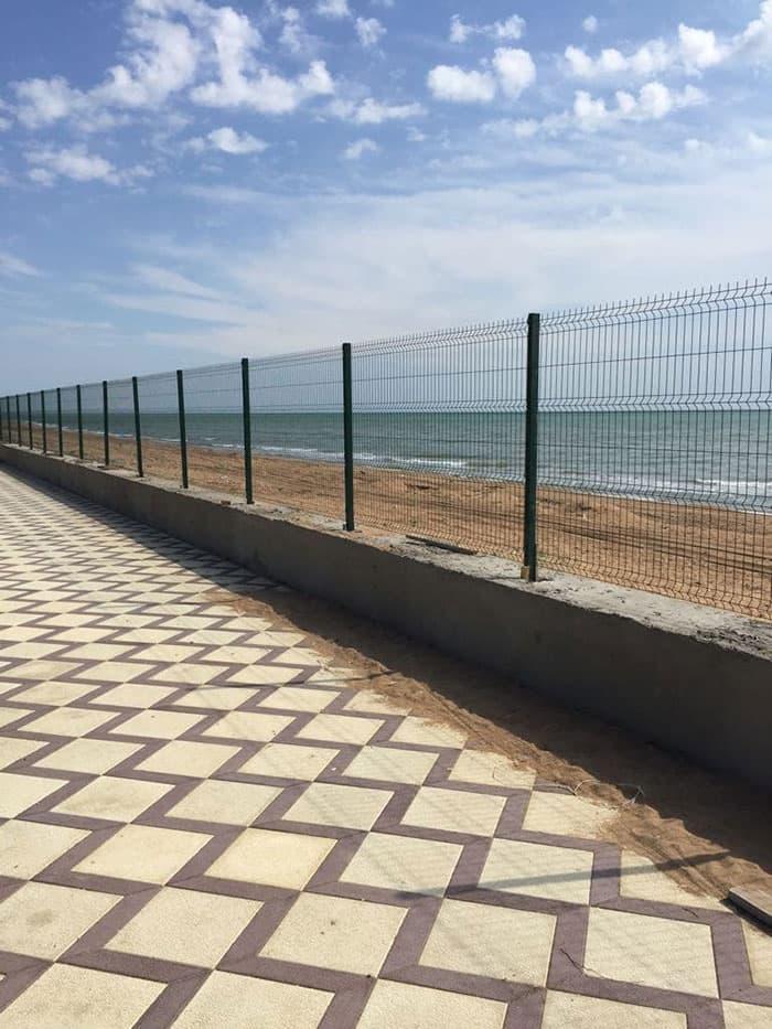 Недорогой, но качественный забор