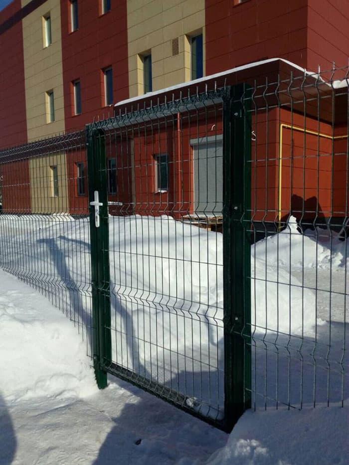Забор 2D