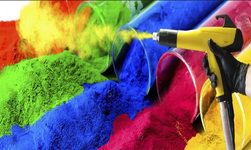 Все о порошковой краске: состав, преимущества