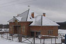 Если пришлось класть крышу зимой