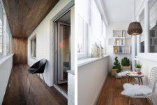 Лоджия: совмещаем современный дизайн и практичность