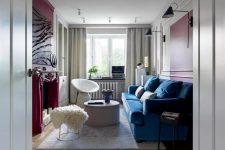 Портьеры в интерьере квартиры