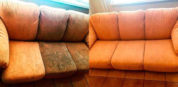 Плюсы профессиональной химчистки мебели