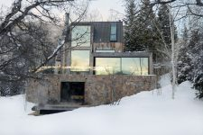 Энергосберегающий дом в стиле шале