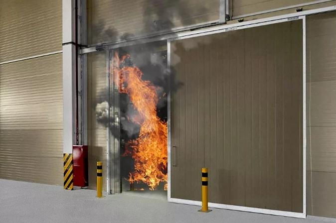 Типы противопожарных ворот
