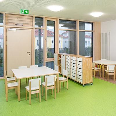 Требования к мебели для частных детских садов, советы по выбору