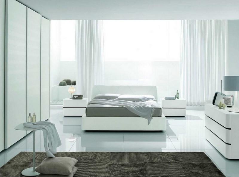 Белая спальня: идеи оформления и выбор стиля